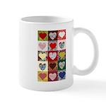 Heart Quilt Pattern Mug