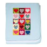 Heart Quilt Pattern baby blanket