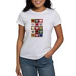 Heart Quilt Pattern Women's T-Shirt