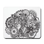 Pen and Ink Detailed Line Dra Mousepad