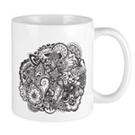 Pen and Ink Detailed Line Dra Mug