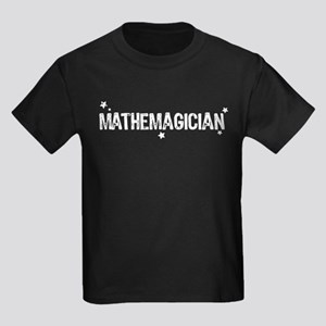 Mathematician / Mathemagician Kids Dark T-Shirt