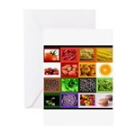 Rainbow Foods Greeting Cards (Pk of 20)