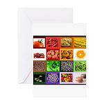 Rainbow Foods Greeting Card