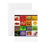 Rainbow Foods Greeting Cards (Pk of 10)