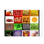 Rainbow Foods Postcards (Package of 8)