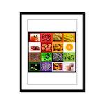 Rainbow Foods Framed Panel Print