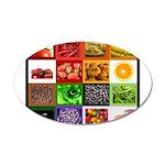 Rainbow Foods 38.5 x 24.5 Oval Wall Peel