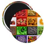 Rainbow Foods Magnet