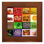 Rainbow Foods Framed Tile