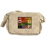 Rainbow Foods Messenger Bag