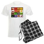 Rainbow Foods Men's Light Pajamas