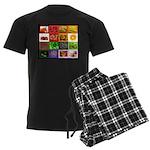 Rainbow Foods Men's Dark Pajamas