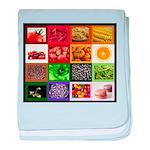 Rainbow Foods baby blanket