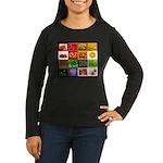 Rainbow Foods Women's Long Sleeve Dark T-Shirt