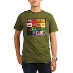 Rainbow Foods Organic Men's T-Shirt (dark)