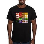 Rainbow Foods Men's Fitted T-Shirt (dark)