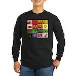 Rainbow Foods Long Sleeve Dark T-Shirt