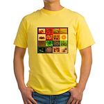 Rainbow Foods Yellow T-Shirt