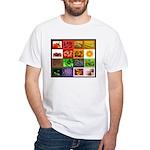 Rainbow Foods White T-Shirt