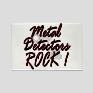Metal Detectors Rock ! Rectangle Magnet