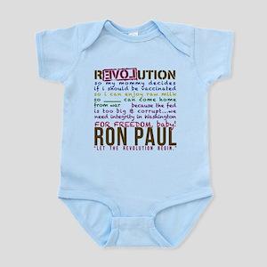 RON PAUL baby & tike Infant Bodysuit