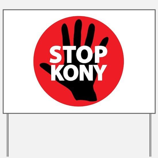 Stop Kony Yard Sign