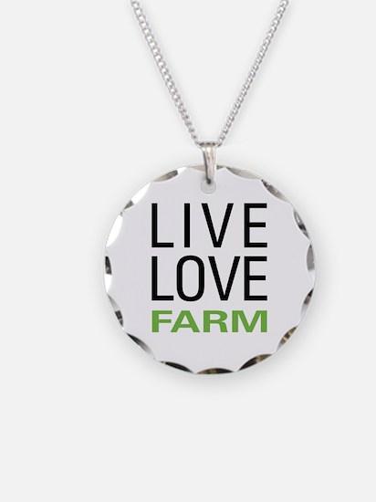 Live Love Farm Necklace
