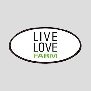 Live Love Farm Patches