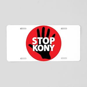 Stop Kony Aluminum License Plate
