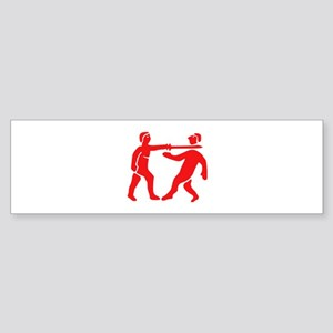 Benin Empire Flag / Emblem Sticker (Bumper)