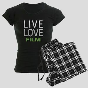 Live Love Film Women's Dark Pajamas