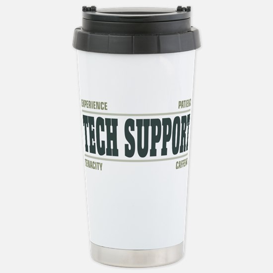 Tech Support Stainless Steel Travel Mug