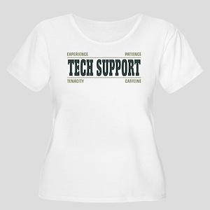Tech Support Women's Plus Size Scoop Neck T-Shirt