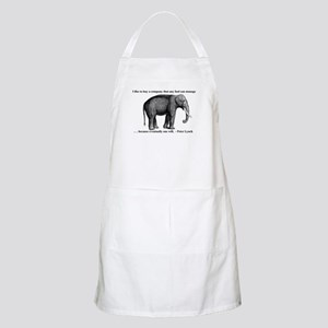 A Wise Elephant (BBQ apron)
