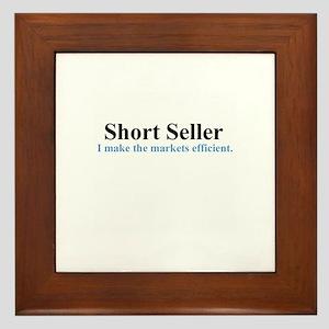 Short Seller (framed tile)