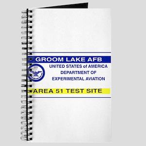 Area 51 Pass Journal