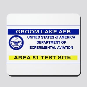 Area 51 Pass Mousepad
