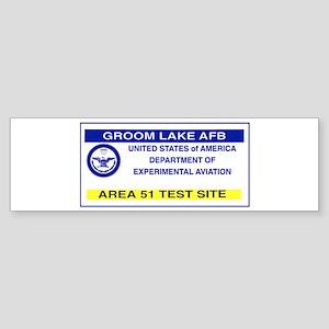 Area 51 Pass Sticker (Bumper)