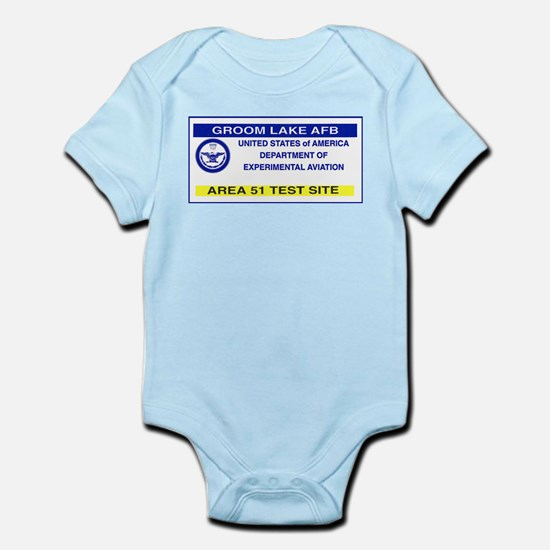 Area 51 Pass Infant Bodysuit