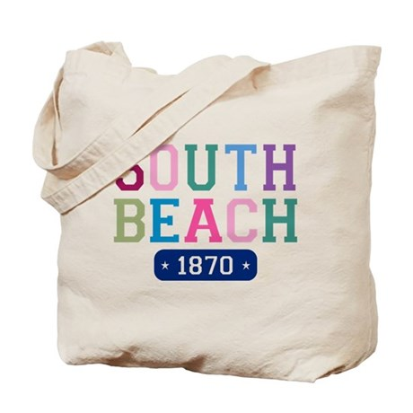 South Beach 1870 Tote Bag