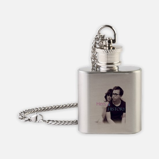 Cute Lindsey Flask Necklace