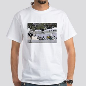 World Championship Dog Kicking White T