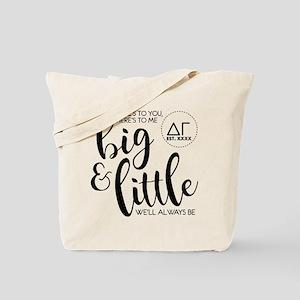 Delta Gamma Big Little Personalized Tote Bag