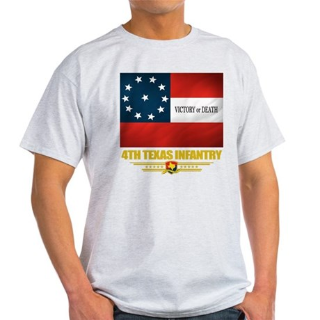 4th Texas Infantry (flag 10) T-Shirt
