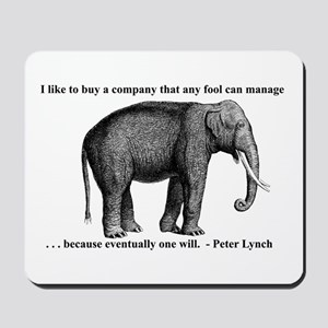 A Wise Elephant (mouse pad)