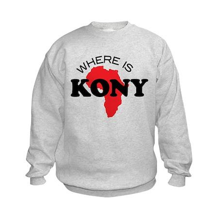 Stop Kony 2012 Kids Sweatshirt