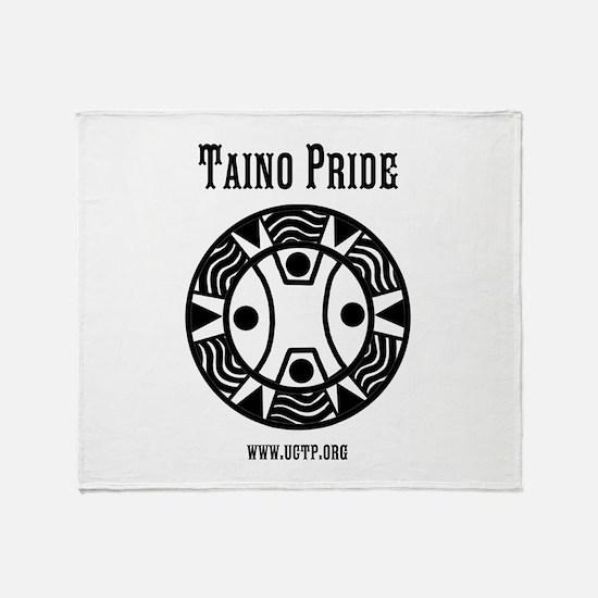 Taino Pride Throw Blanket