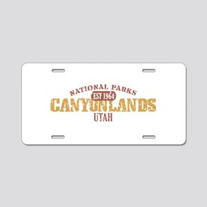 Canyonlands National Park UT Aluminum License Plat