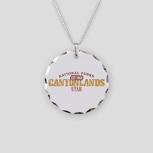 Canyonlands National Park UT Necklace Circle Charm